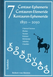 7 Kentauren Ephemeride 1850 - 2050